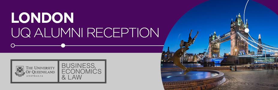 UQ Alumni Reception in London
