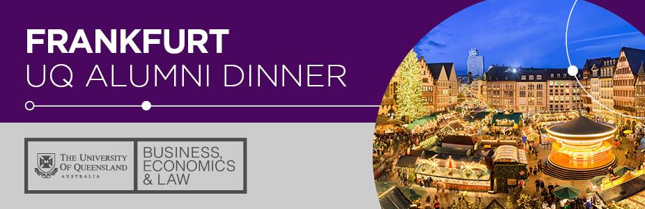 UQ Alumni Dinner in Frankfurt