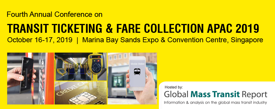 Fourth Annual Conference on Transit Ticketing & Fare Collection APAC 2019