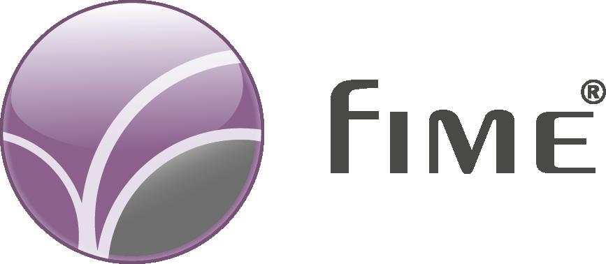 FIME logo H quadri