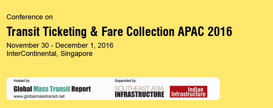 Conference on Transit Ticketing & Fare Collection APAC 2016