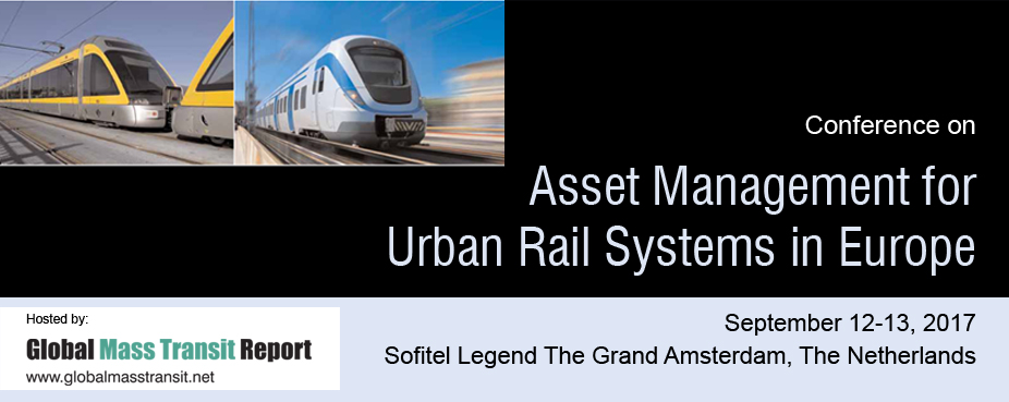 Conference on Asset Management for Urban Rail Systems in Europe 2017
