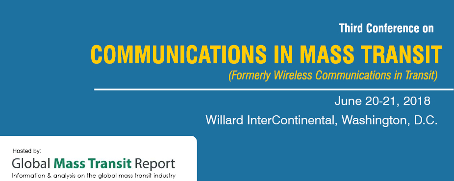 3rd Annual Conference on Communications in Mass Transit