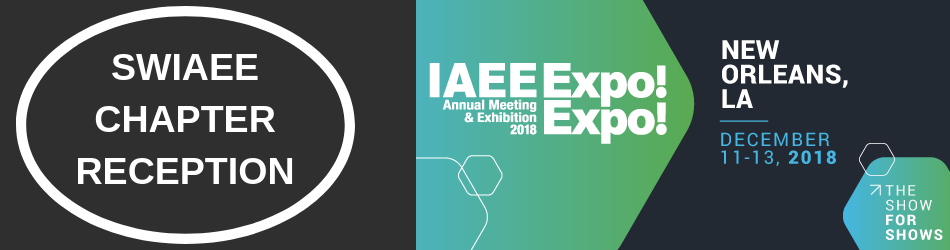 IAEE Southwest Chapter Reception at EXPO! EXPO! 2018 in New Orleans