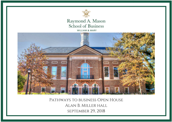 Raymond A. Mason School of Business Family Weekend - 09.29.18