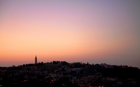 Sunset In Israel