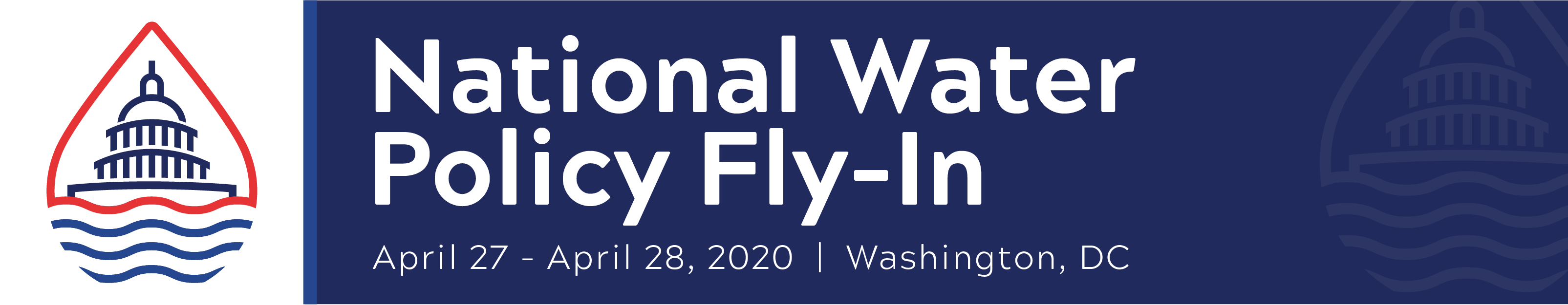 2020 National Water Policy Fly-In