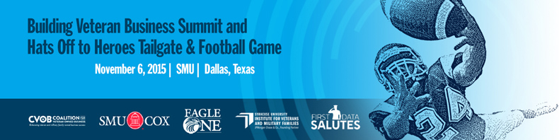 "CVOB Summit at SMU & ""Hats Off to Heroes"" Tailgate & Football Game"