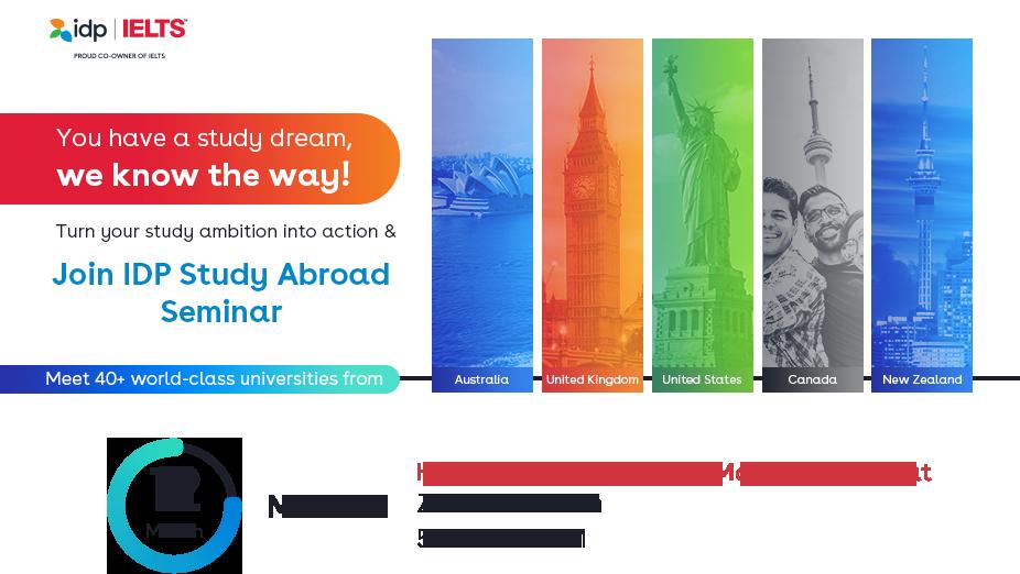 Join IDP Study Abroad Seminar