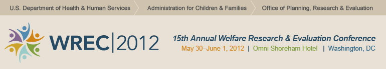 15th Annual Welfare Research and Evaluation Conference