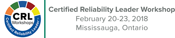 September Certified Reliability Leader Workshop