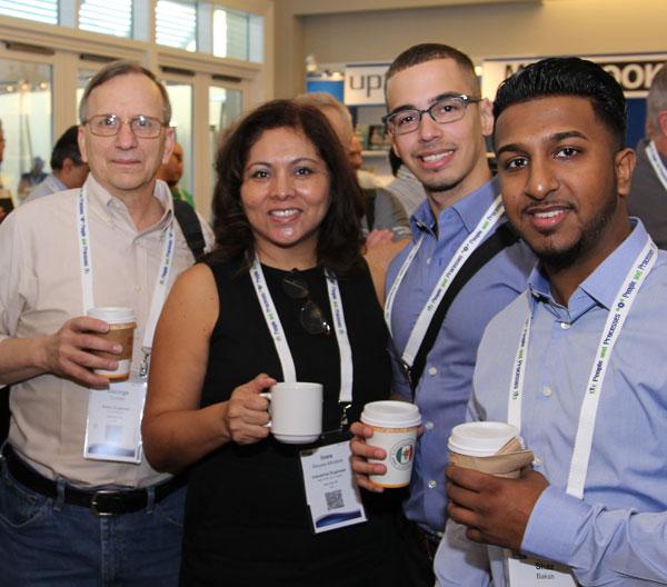 IMC attendees