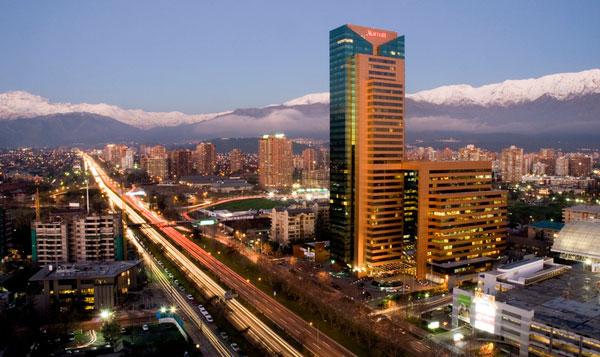 Santiago Marriott exterior