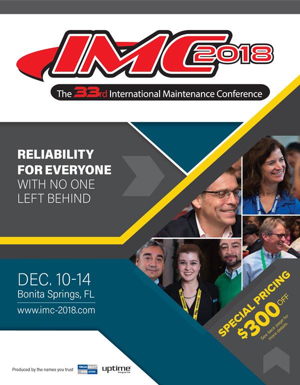IMC 2018 brochure cover