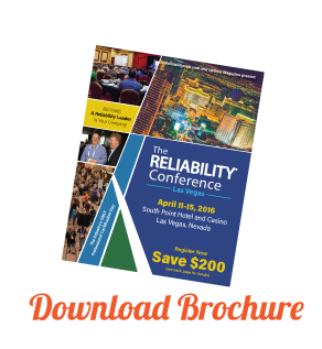 The RELIABILITY Conference Brochure