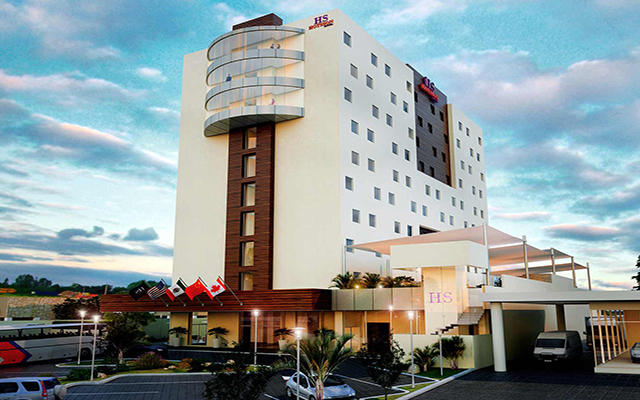 HS Hotsson Hotel Fachada