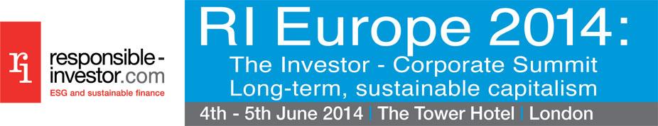 RI Europe 2014: Long-term, sustainable capitalism
