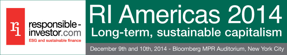 RI Americas 2014: Long-term, sustainable capitalism