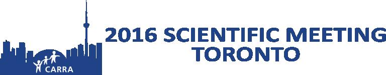 2016 CARRA Scientific Meeting