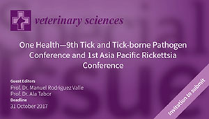 Veterinary Science Journal Special TTP9-APRC1 Issue