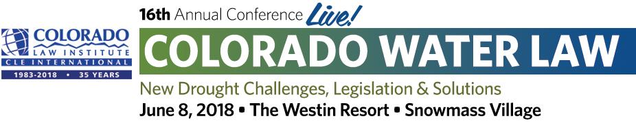 Colorado Water Law Conference
