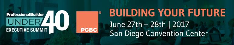 2017 Professional Builder Under 40 Executive Summit