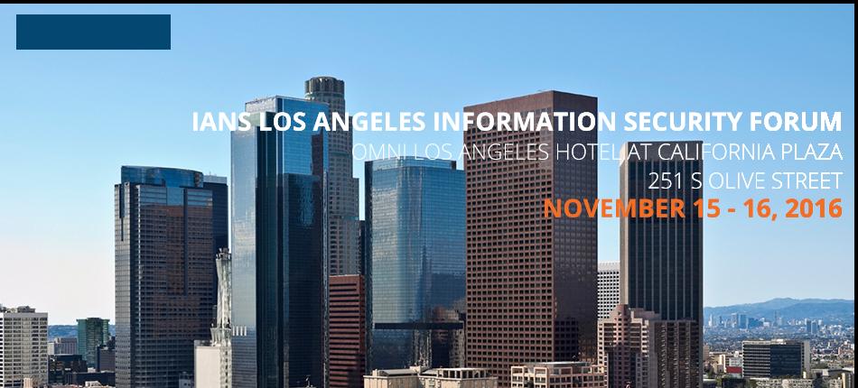 2016 Los Angeles Information Security Forum