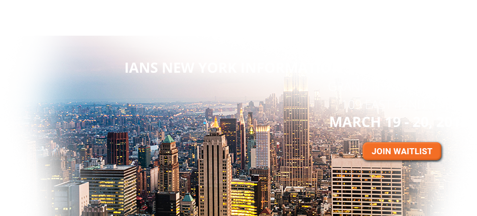 2018 New York Information Security Forum