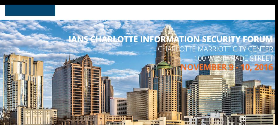 2016 Charlotte Information Security Forum