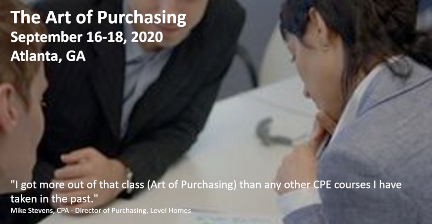 Art of Purchasing Sep 2020