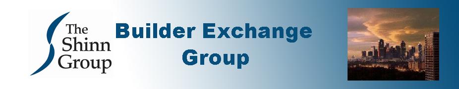 Builder Exchange Group - Dallas March 19 - 20, 2018