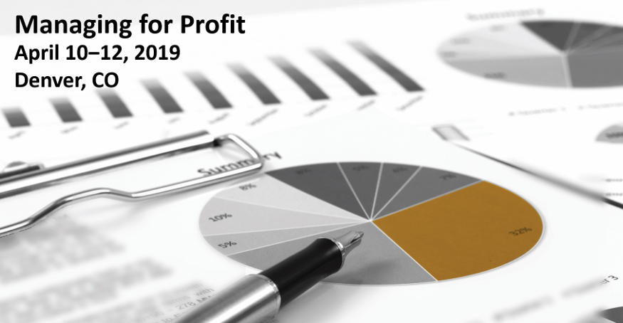 Managing for Profit Apr 2019 2