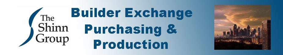 Builder Exchange Purchasing & Production Group - Dallas April 26 - 27, 2018