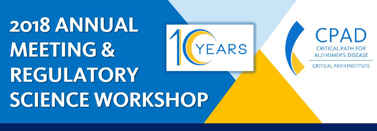 CPAD 2018 Annual Meeting & Regulatory Science Workshop