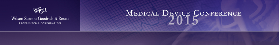 Medical Device Conference 2015