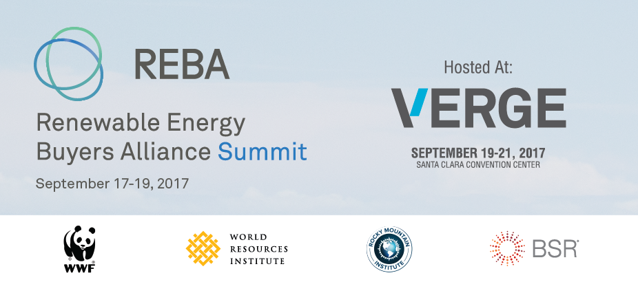 2017 REBA Summit at VERGE 17
