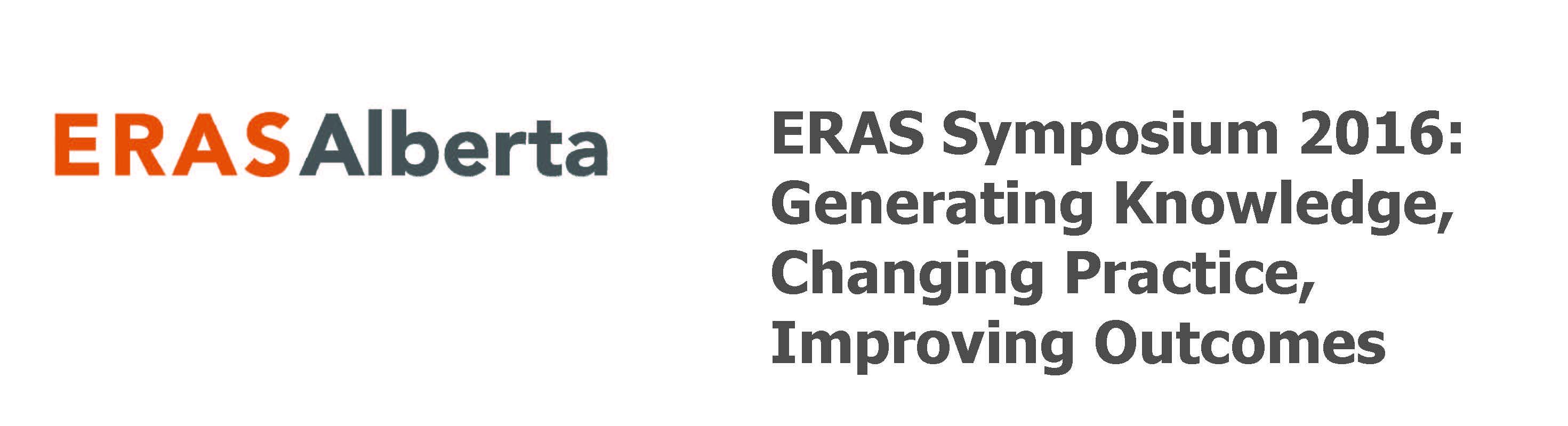 ERAS Symposium 2016