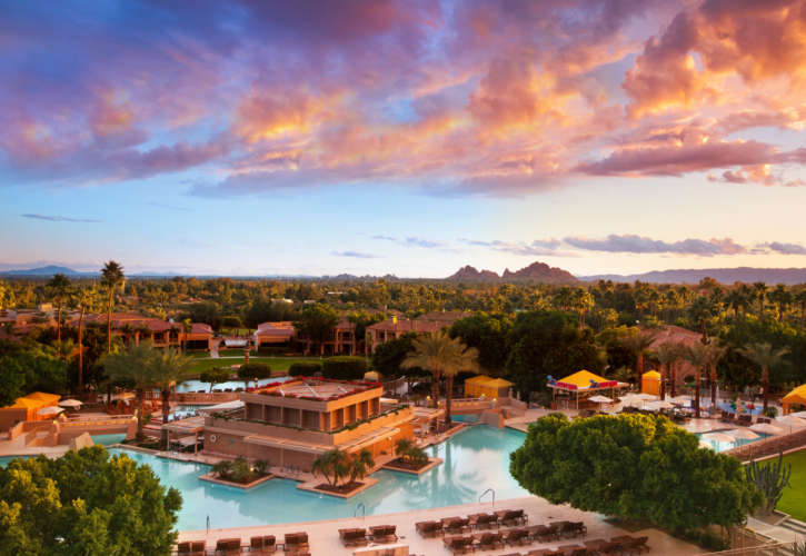 The-Phoenician Pool