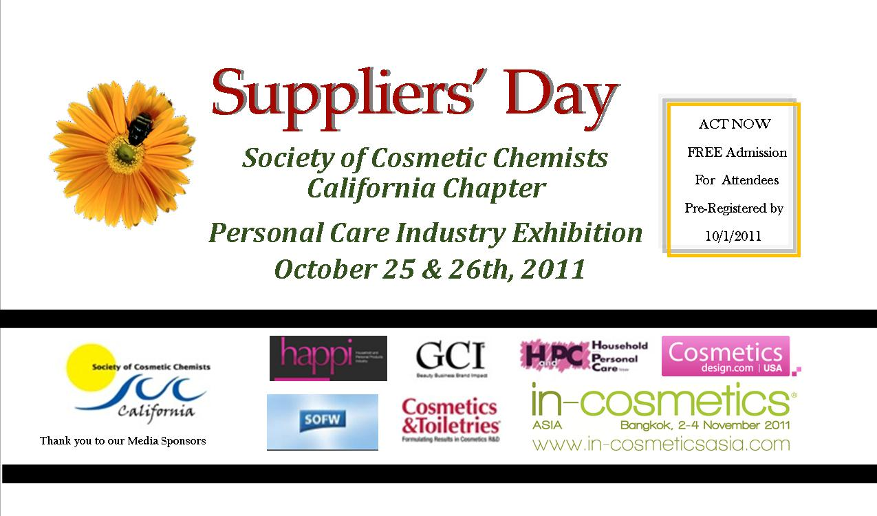 SCC California Chapter 2011 Suppliers' Day Exhibition