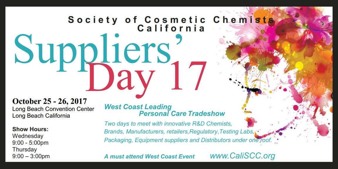 SCC California Chapter 2017 Suppliers' Day Exhibition