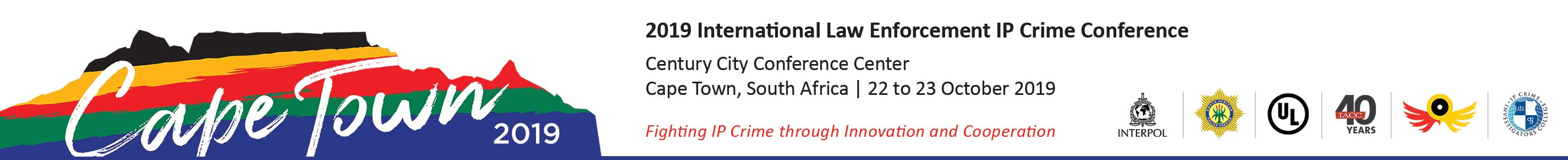 2019 International Law Enforcement IP Crime Conference