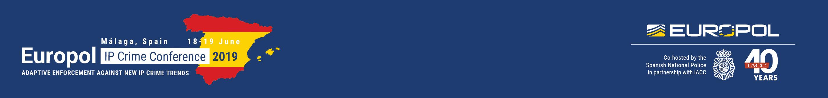 2019 Europol IP Crime Conference