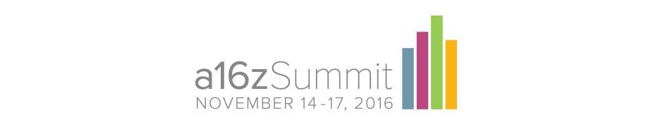 Andreessen Horowitz Summit 2016