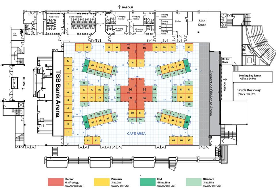 NZCB Conference Floor Plan 2020 Wellington
