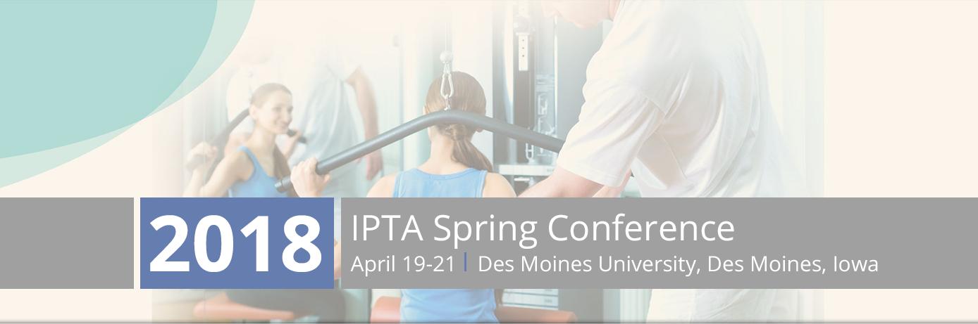 2018 IPTA Spring Conference