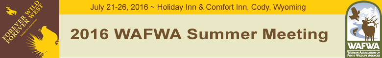 WAFWA 2016 Summer Meeting ~ Exhibitor/Sponsor Registration