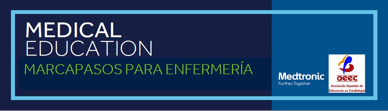 Curso Digital de Marcapasos para Enfermería - 18 y 25 mayo, 1 y 8 ó 9 junio