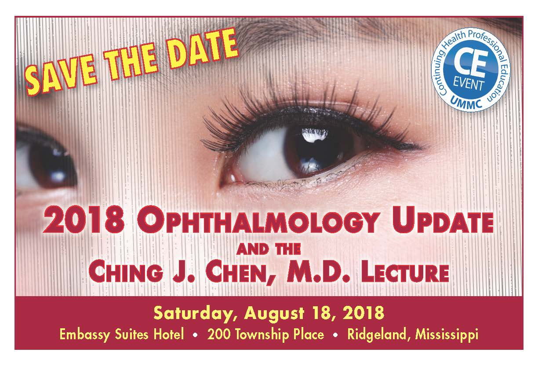2018 OphthalmologySavetheDate