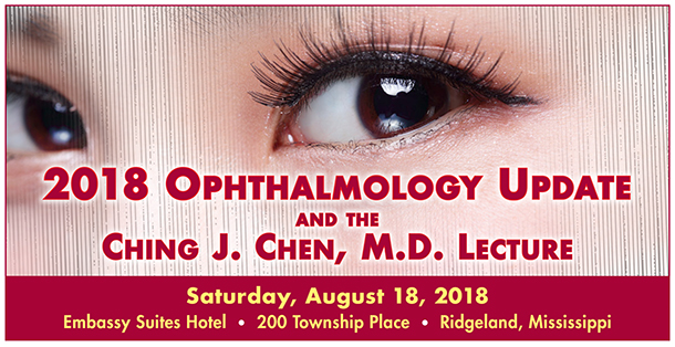 2018 Ophthalmology banner