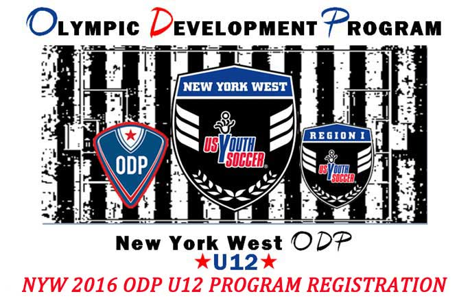 NYW 2016 ODP U12 PROGRAM